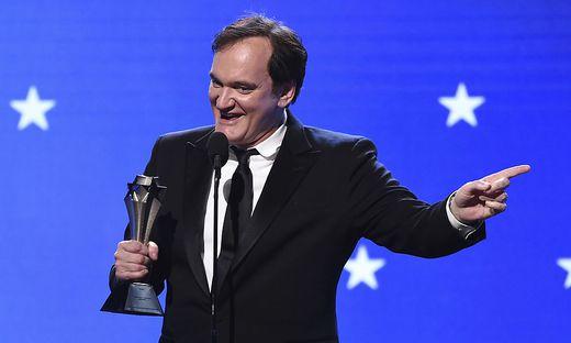 Quentin Tarantino durfte sich gleich über vier Preise freuen