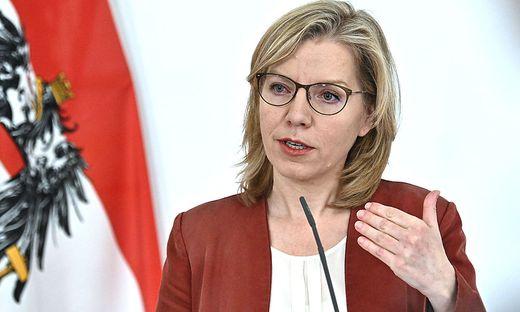 Verkehrsministerin Leonore Gewessler (Grüne)