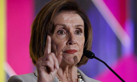 Nancy Pelosi, Sprecherin der Parlamentskammer, begrüßte das Votum des Repräsentantenhauses