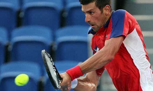 """In Tokio lief es für Novak Djokovic nicht nach Wunsch. Dafür könnte er bei den US Open den """"Grand Slam"""" fixieren"""