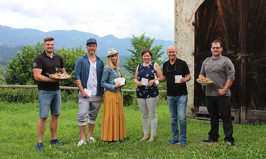 Andreas Haidinger (The Kitchen), Peter und Heidi Matauschek, Natalia Bauernhofer, Helmut Pekler, Raphael Oberhofer (The Kitchen)