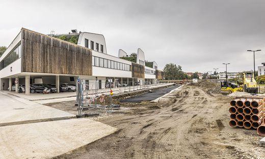 Gleich mehrere Baustellen gibt es derzeit im Lakeside Park.