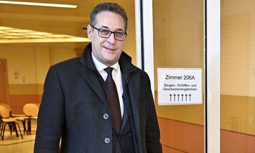 Ex-Vizekanzler Heinz- Christian Strache.