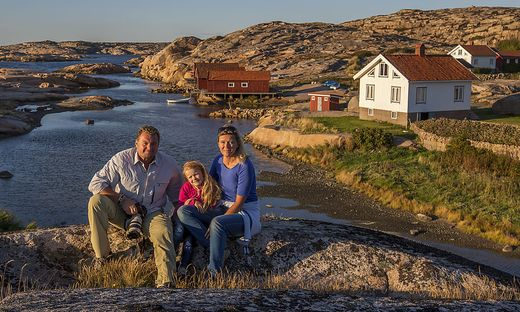 46 Wochen verbrachte Wolfgang Fuchs mit seiner Familie in Skandinavien