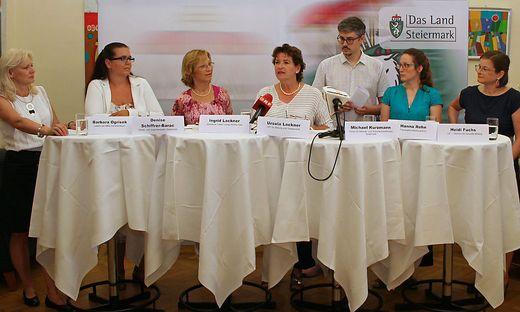 Pressekonferenz Lackner