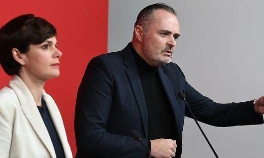 PK SPOe 'ROTES FOYER' ZUM THEMA JUSTIZ UND AKTUELLEN ENTWICKLUNGEN IN DER CAUSA EUROFIGHTER: RENDI-WAGNER / DOSKOZIL