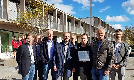 Verein und Stadt freuen sich über den Erhalt der GerambRose