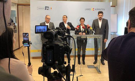 Das Land informiert über den ersten bestätigten Coronavirus-Fall in Kärnten