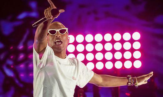 "Pharrell Williams trat beim ""Global Citizen Festival"" im Central Park in New York auf"