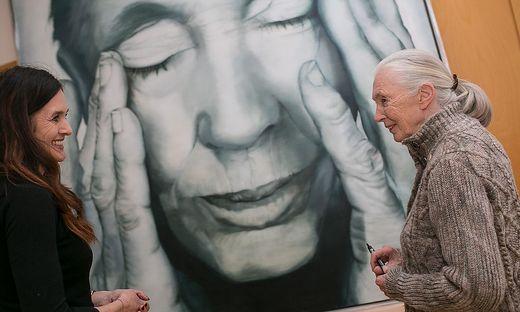 Marion Rauter traf Jane Goodall am Sonntag in Wien