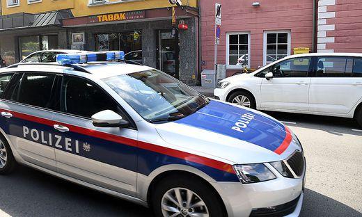 Diese Trafik in Villach wurde am Dienstag zum Ziel eines Räubers