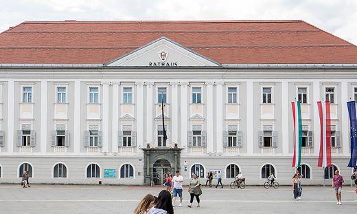 Neuer Platz Klagenfurt Rathaus