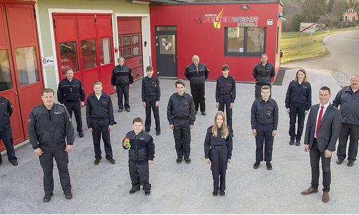 Stiwoller Feuerwehr-Nachwuchs