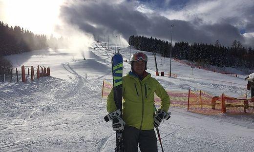 Seit August ist Skilehrer Manfred Hauer Geschäftsführer auf der Simonhöhe