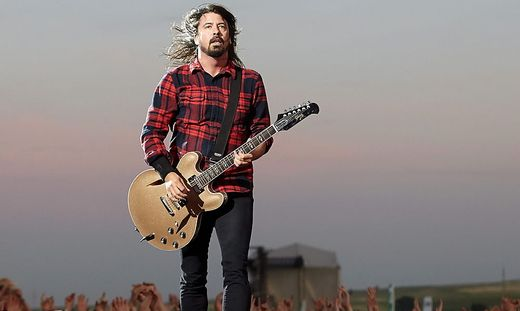 Dave Grohl von den Foo Fighters
