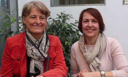 Rosemarie Höller und Andrea Pucher-Hainzl