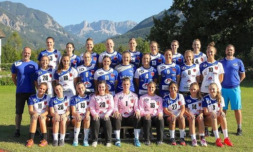 So sieht sie aus, die heurige Damen-Mannschaft der SG Kelag Ferlach/Feldkirchen