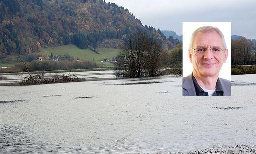 """Franz Allerberger, Leiter """"Öffentliche Gesundheit"""" der AGES gibt Auskunft über die Tests am Ossiacher See und dem dazugehörigen Bleistätter Moor"""