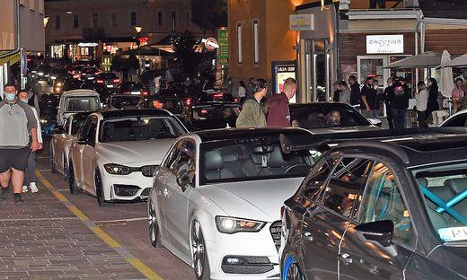 Menschenmassen und Autokolonnen: In Velden ging gar nichts mehr