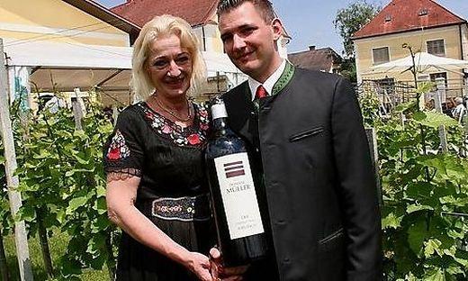 Eva Müller mit ihrem Sohn Yves Michel Müller