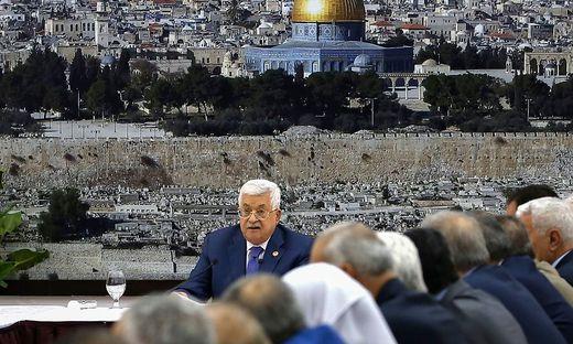 PALESTINIAN-ISRAEL-CONFLICT-POLITICS