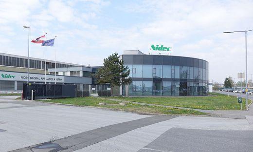 Der Standort von Nidec in Fürstenfeld