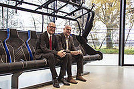 Hanno Ulmer und Michael Doppelmayr