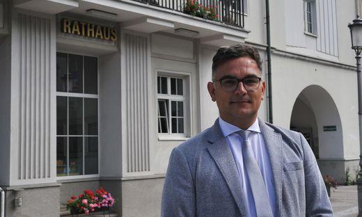 Alfred Bernhard OeVP Buergermeister Rottenmann bei der Gemeinderatswahl 2020