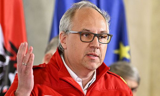 """""""Wir glauben an die Freiwilligkeit. Zwang ist immer ein schlechter Motivator"""", sagte Rotes-Kreuz-Bundesrettungskommandant Gerry Foitik"""