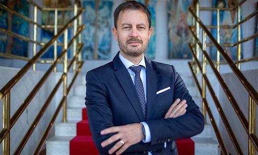 Der neue slowakische Premier Eduard Heger