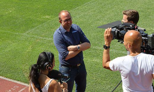 SOCCER - BL, Sturm, presentation of the new head coach