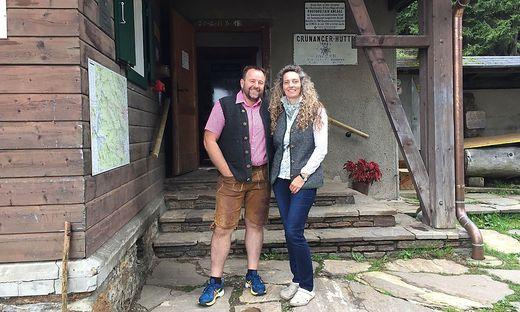 Wolfgang und Elke Reiterer pachten die Grünangerhütte seit 2014