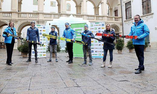 Der Steirische Skiverband stelle sich in Graz vor