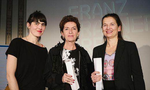 Bei der Diagonale geehrt: Krisztina Kerekes, Ruth Beckermann, Karin Berghammer