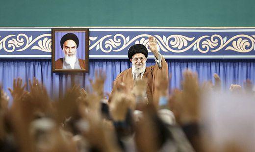 Irans Führung reagierte hart auf die Proteste