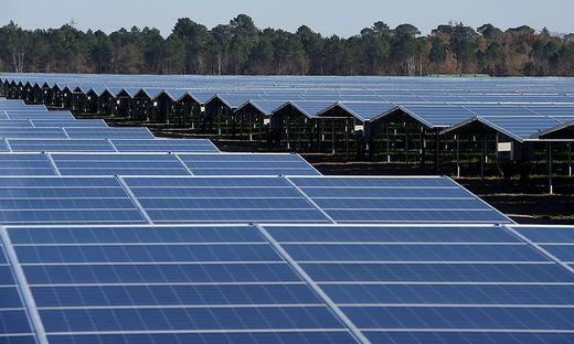 Der Photovoltaik-Park in Cestas nahe Bordeaux hat eine Leistung von 300 Megawatt