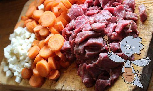 Karottenpfanne