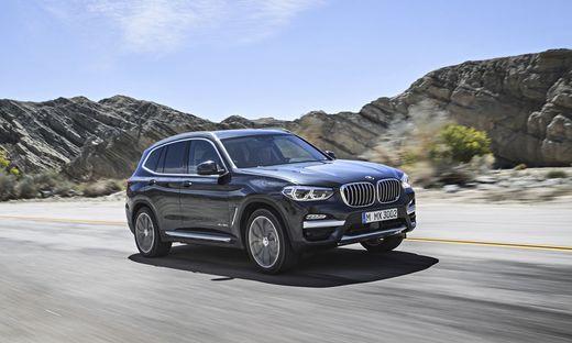 SUVs von BMW als Verkaufsschlager