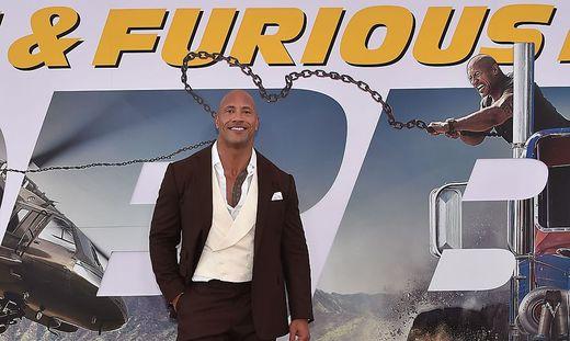Dwayne Johnson wieder bestbezahlter Schauspieler der Welt