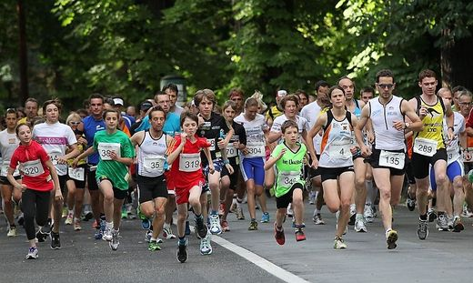 Leukämielauf - im vergangenen Jahr waren rund 500 Läufer dabei
