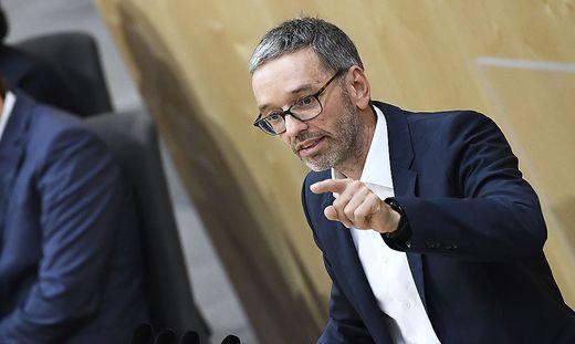FPÖ-Bundesparteiobmann Herbert Kickl