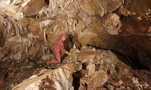 40 bis 70 Meter unter der Erdoberfläche wird geforscht