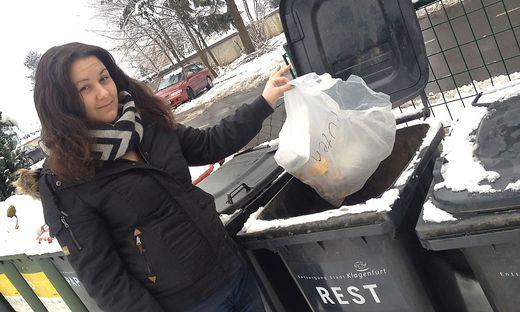 """Marina Pajnik (22) hörte das Kind schreien und rettete es: """"Ich habe mich durch den Müll gewühlt, bis meine Hände auf eine Stofftasche mit dem kleinen Babykörper stießen."""""""
