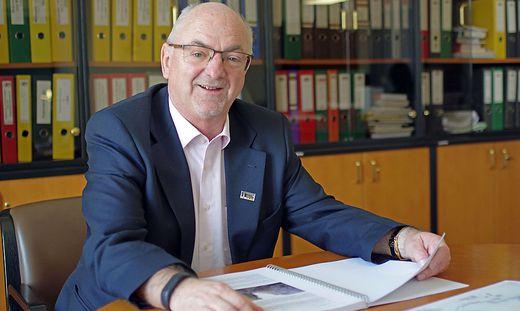 Manfred Seebacher bleibt noch bis 31. Mai 2019 im Amt