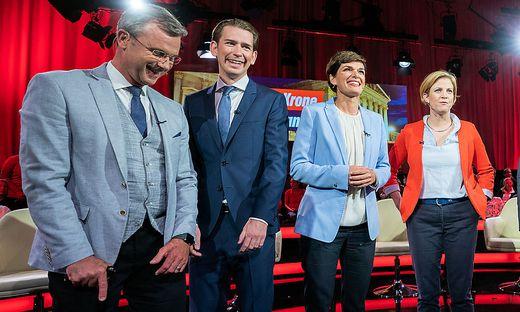 NR-WAHL: ELEFANTENRUNDE AUF KRONEN-ZEITUNG-TV UND PULS24-TV