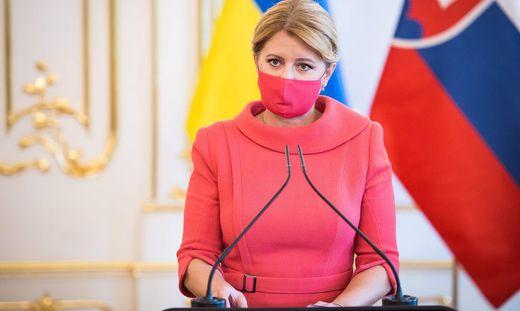 Die slowakische Präsidentin Zuzana Caputova