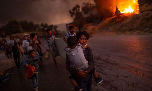 """Dieses Foto von Angelos Tzortzinis wurde zum """"UNICEF-Foto des Jahres"""" gewählt"""