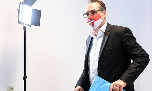 PK TEAM HC STRACHE 'ANALYSE DER WIEN-WAHL - ZUKUNFT DER PARTEI': STRACHE