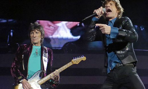 Mick Jagger, Ron Wood