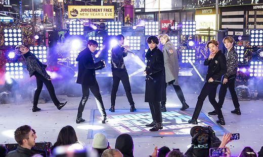 Die Abräumer des Abends: die südkoreanische Band BTS